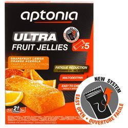 Barritas energéticas de frutas Aptonia ULTRA 5x25 g cítricos
