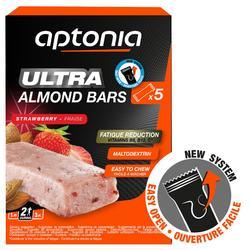 Barritas energéticas de almendras Aptonia ULTRA 5x25 g fresa