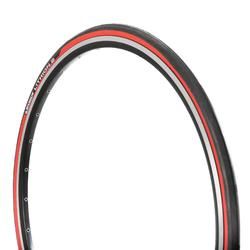 Buitenband racefiets Lithion 2 rood 700X25 vouwband / ETRTO25-622