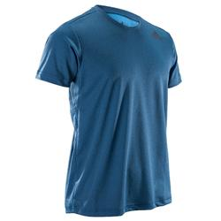 Camiseta fitness cardio-training hombre FREELIFT azul