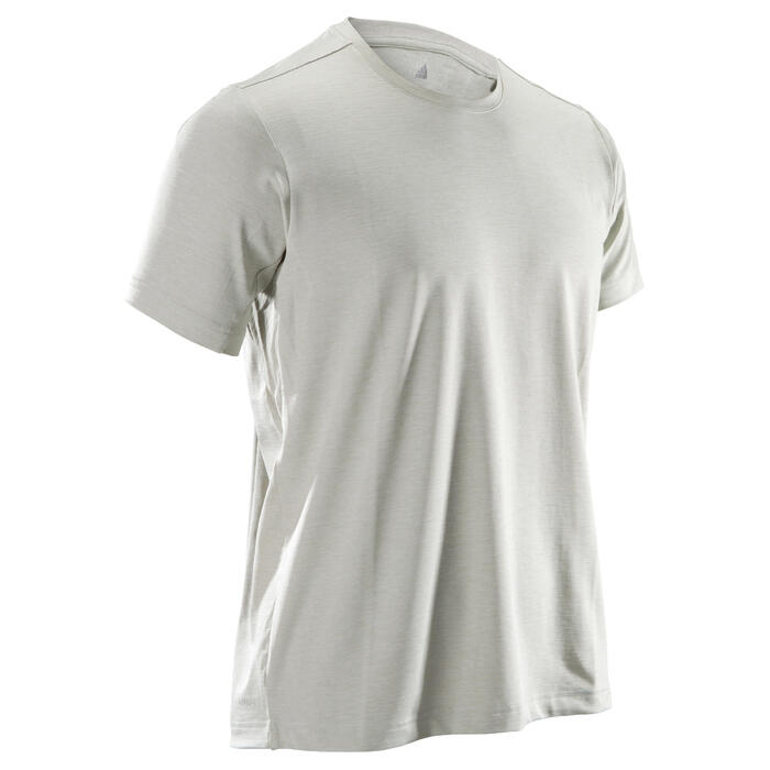 T-shirt fitness cario-training homme ADIDAS FREELIFT beige - 1414937