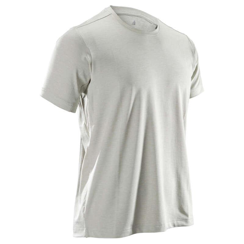 MAN FITNESS APPAREL Clothing - Freelift T-Shirt - Beige ADIDAS - Tops