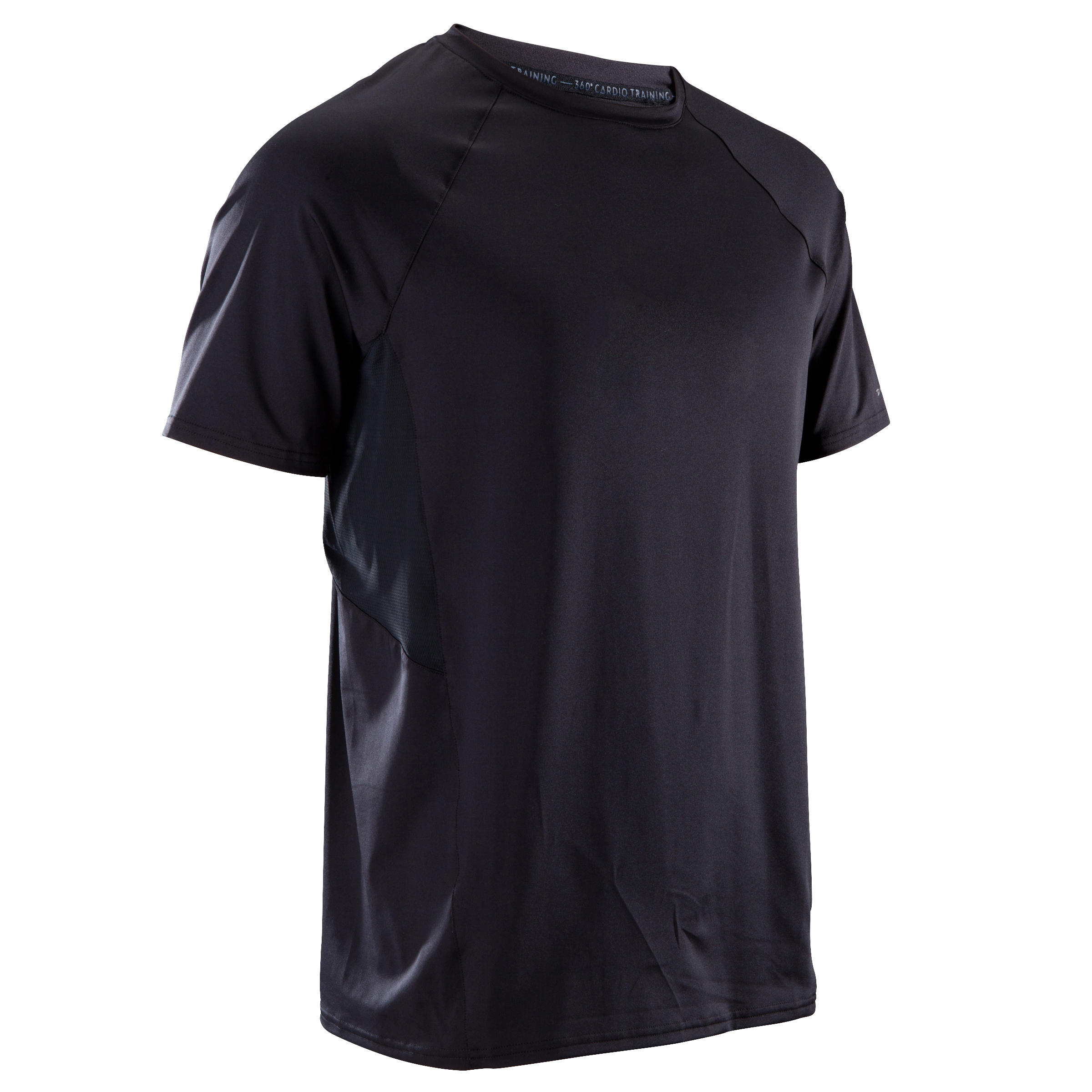 FTS 500 Cardio Fitness T-Shirt - Black