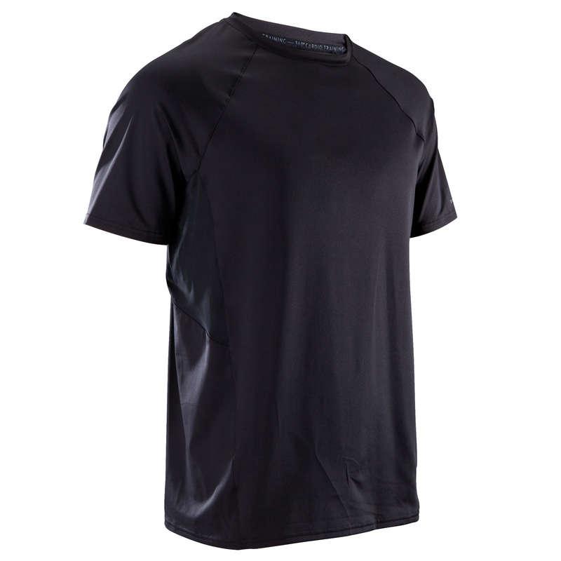 ODZIEŻ FITNESS CARDIO MĘSKA Fitness - Koszulka Cardio FTS 500 DOMYOS - Fitness