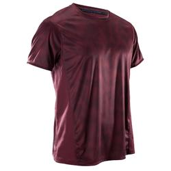 Fitness shirt FTS120 voor heren, bordeaux