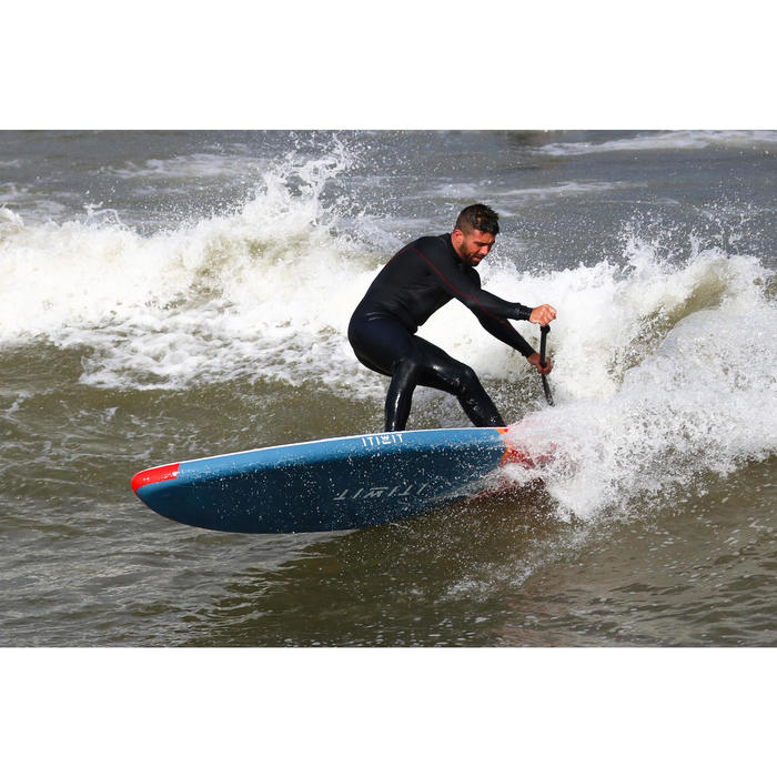 STAND UP PADDLE GONFLABLE DE SURF 500 / 8' ROUGE 135 L