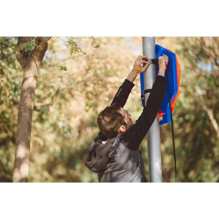 Panier de basket enfant/adulte THE HOOP Playground bleu orange. Transportable. - 1414968