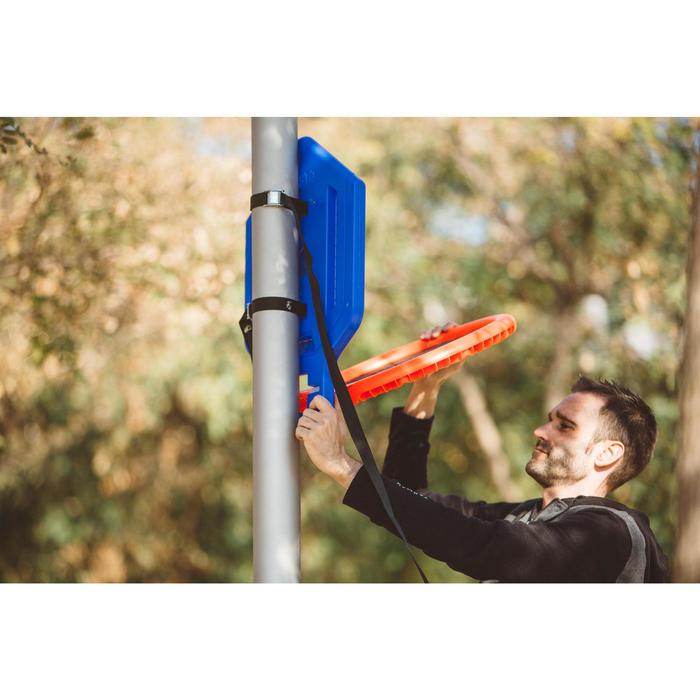 Panier de basket enfant/adulte THE HOOP Playground bleu orange. Transportable. - 1414992