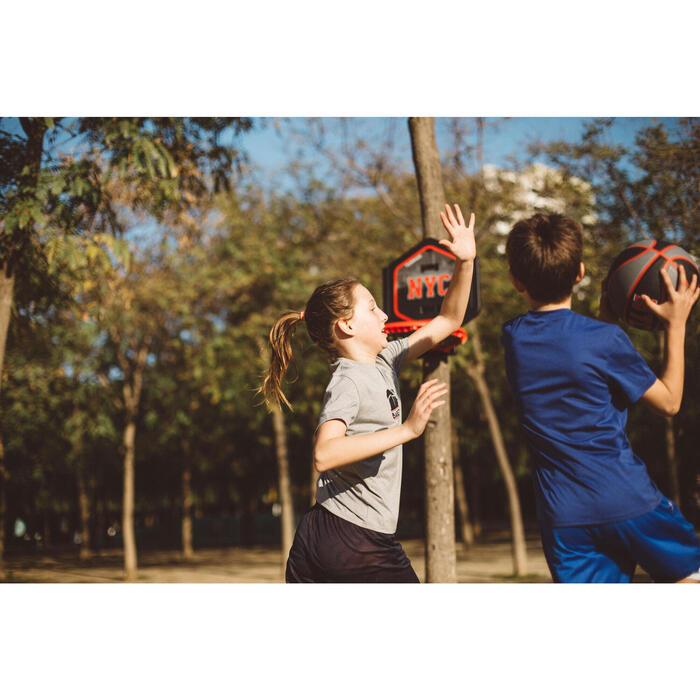 Panier de basket enfant/adulte THE HOOP Playground bleu orange. Transportable. - 1414995