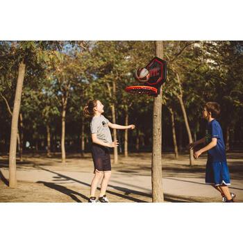Panier de basket enfant/adulte THE HOOP Playground bleu orange. Transportable. - 1415006