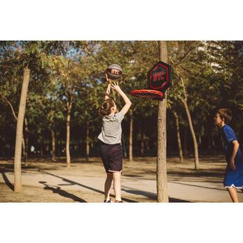 Panier de basket enfant/adulte THE HOOP Playground bleu orange. Transportable. - 1415016