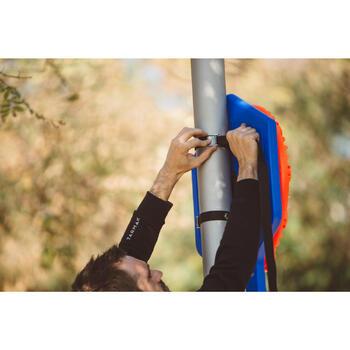 Panier de basket enfant/adulte THE HOOP Playground bleu orange. Transportable. - 1415029