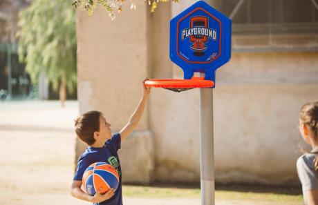 hoop playground