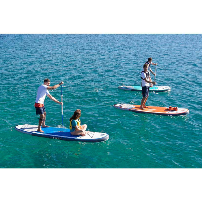 STAND UP PADDLE GONFLABLE RANDONNEE 100 / 9'8 ORANGE - 1415050