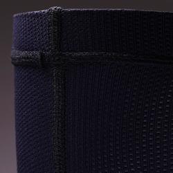 Sützschaft Schienbeinschoner-Halter F100 elastisch dunkelblau