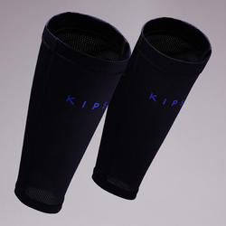F100 Football Shin Pad Sleeve - Dark Blue