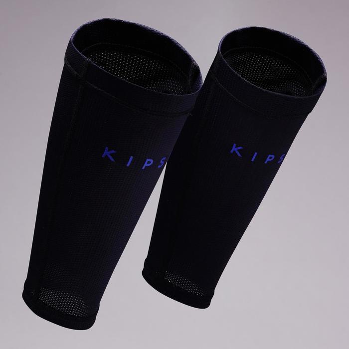 Schienbeinschoner-Halter elastisch dunkelblau