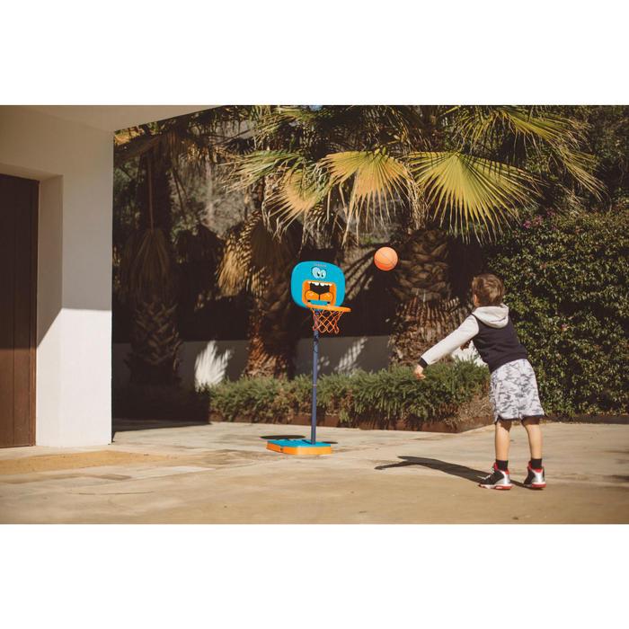 Panier de basketball pour enfant K100 Monstre bleu. 0,9m à 1,2m. Jusqu'à 5 ans. - 1415066