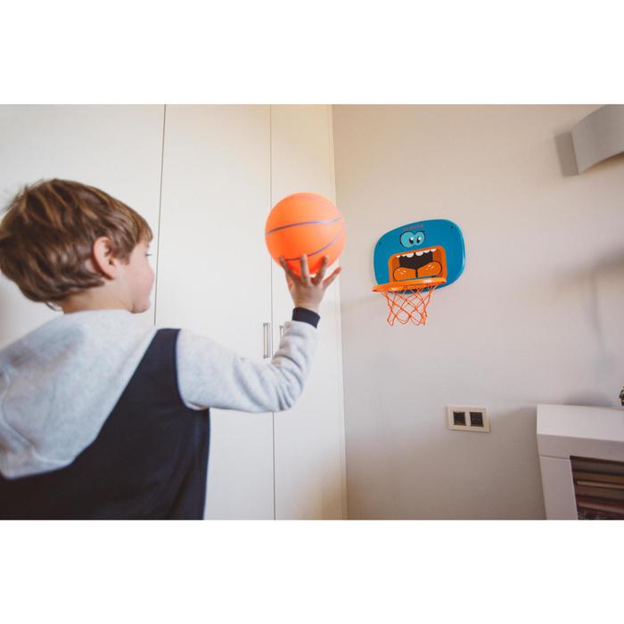 Panier de basketball pour enfant K100 Monstre bleu. 0,9m à 1,2m. Jusqu'à 5 ans. - 1415072