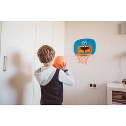Basketbalpaal voor kinderen K100 Monster blauw 0,9 tot 1,2 m. Tot 5 jaar