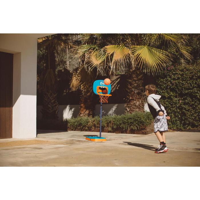 Panier de basketball pour enfant K100 Monstre bleu. 0,9m à 1,2m. Jusqu'à 5 ans. - 1415089