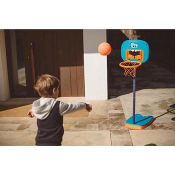 Panier de basketball pour enfant K100 Monstre bleu. 0,9m à 1,2m. Jusqu'à 5 ans. - 1415098