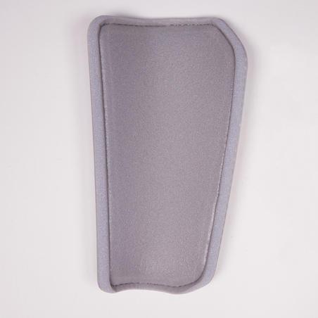 Protège-tibias de soccer adulte F180 gris