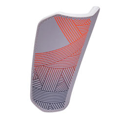 F180 Soccer Shin Pads Grey - Adults