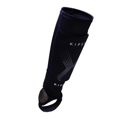 واقي الساق للتدريب على كرة القدمF700 للكبار- أزرق فاتح