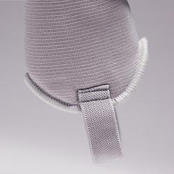 Schienbeinschoner F140 Kinder weiß/grau
