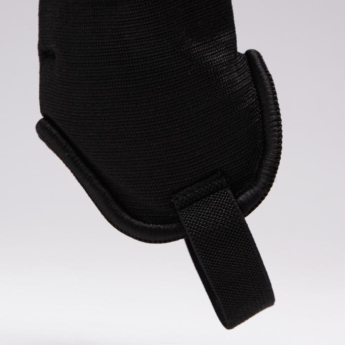 Protège-tibias de football adulte F140 (chevillère détachable) - 1415174