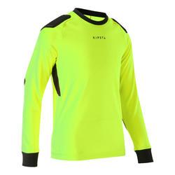 Kids' Goalkeeper Jersey F100 - Yellow
