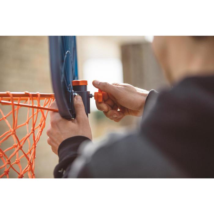 Panier de basketball enfant K500 vaisseau bleu. 1,30m à 1,60m. Jusqu'à 8 ans. - 1415227