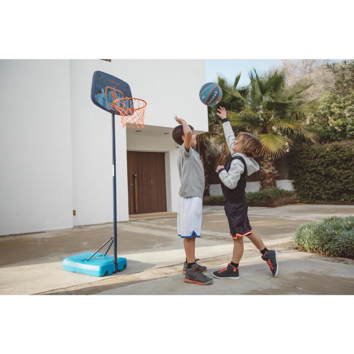 Panier de basketball enfant K500 vaisseau bleu. 1,30m à 1,60m. Jusqu'à 8 ans. - 1415238