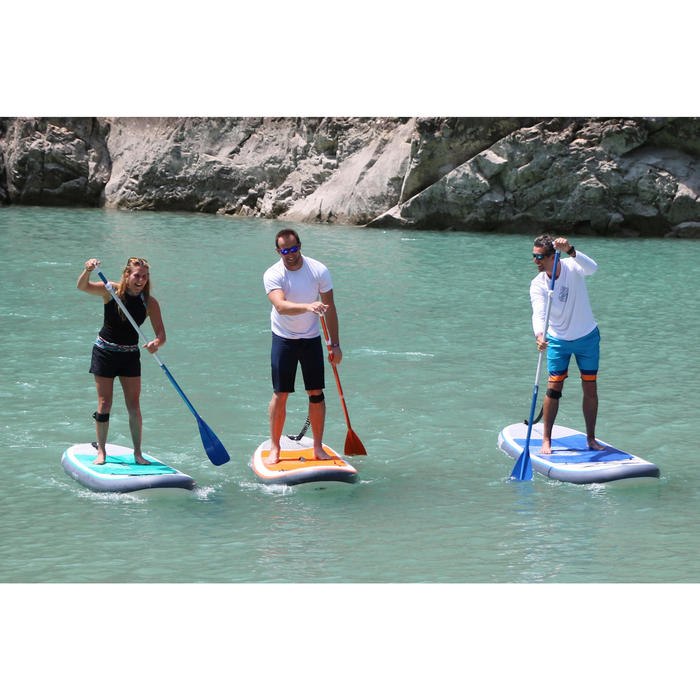 STAND UP PADDLE GONFLABLE RANDONNEE 100 / 9'8 ORANGE - 1415259
