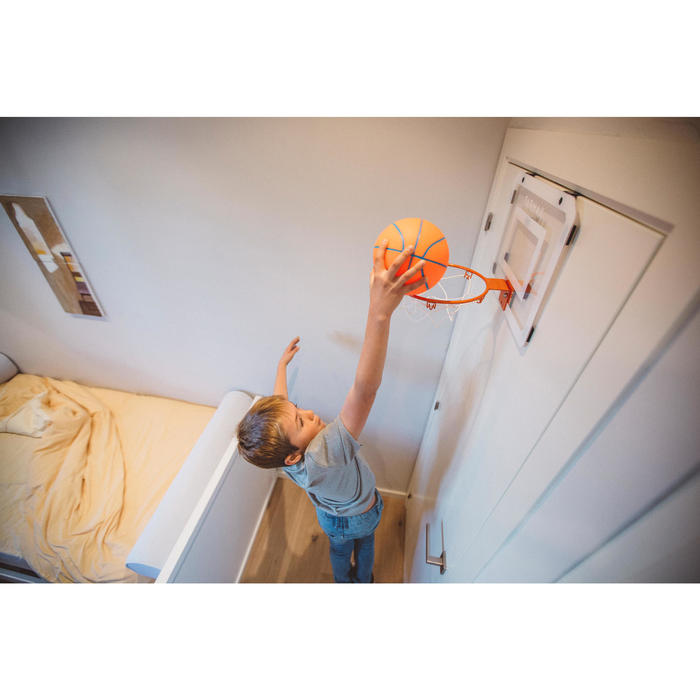 Panneau de basket set mini B Deluxe pour enfant et adulte à fixer au mur - 1415261