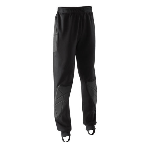 PANTALON GARDIEN DE BUT F100 ENFANT NOIR