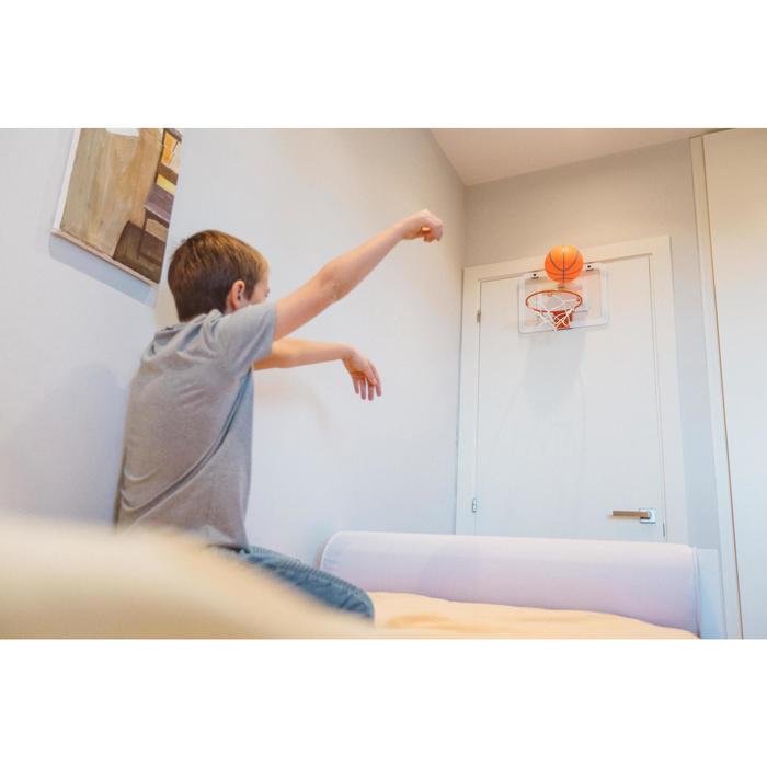 Panneau de basket set mini B Deluxe pour enfant et adulte à fixer au mur - 1415272