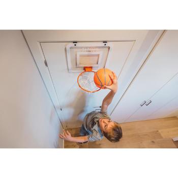 Panneau de basket set mini B Deluxe pour enfant et adulte à fixer au mur - 1415273
