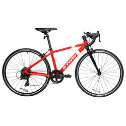 "26"" Junior Kids' Road Bike - Red"