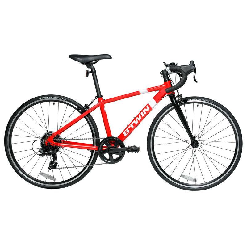 "26"" Junior Kids' Road Bike - Red"