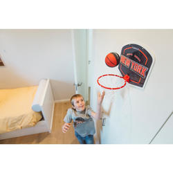 Kids'/Adult Mini Basketball Hoop SK100 Playground - Black/RedBall included.