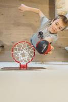 Mini B Mini Basketball Backboard Set Including Ball Blue New York - Kids/Adults.
