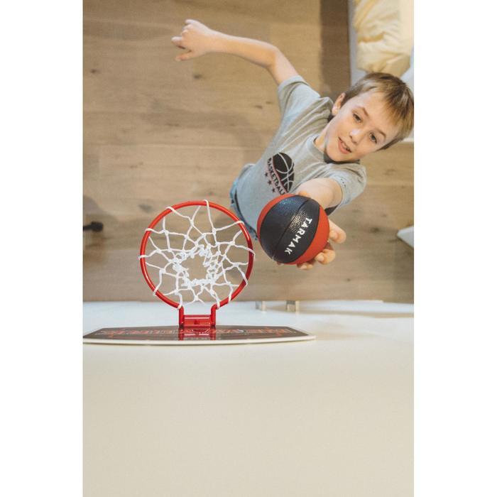 Mini panneau de basket enfant/adulte Set Mini B New York bleu. Ballon inclus. - 1415322