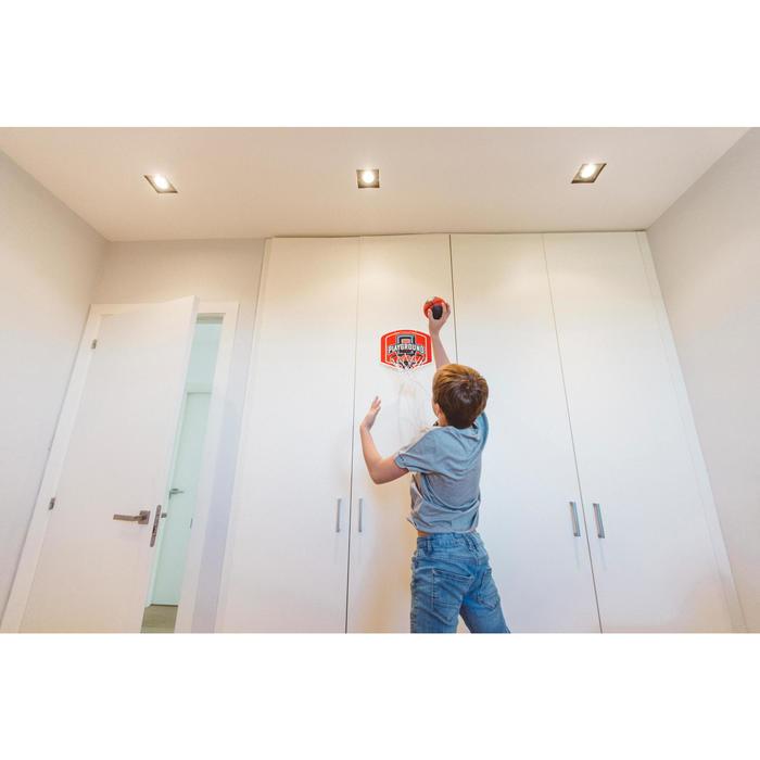 Minicanasta Baloncesto Tarmak SK100 Niños Adulto Playground Rojo Balón incluido
