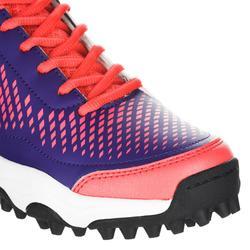 Zapatillas de hockey sobre hierba niños intensidad baja a media FH100 rosa