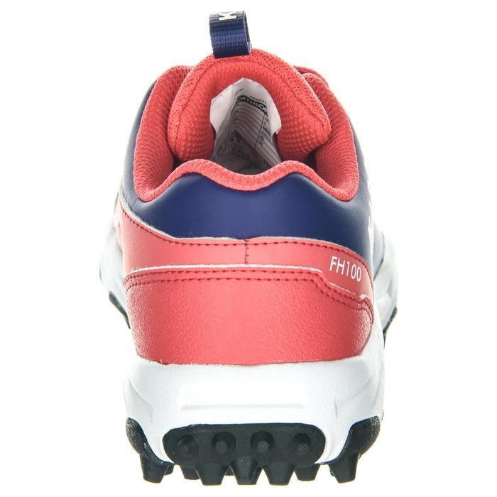 Chaussures de hockey sur gazon enfant intensité faible à moyenne FH100 rose