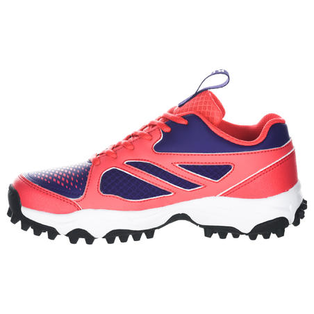 FH100 Kids' Low to Medium Intensity Field Hockey Shoes - Pink