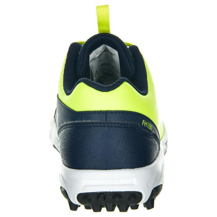 Chaussures de hockey sur gazon enfant intensité faible à moyenne FH100 jaune