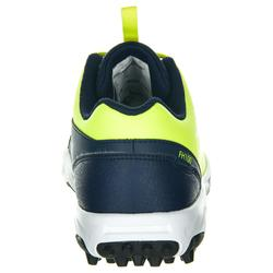 Kinderschoenen voor veldhockey lichte tot gemiddelde intensiteit FH100 geel
